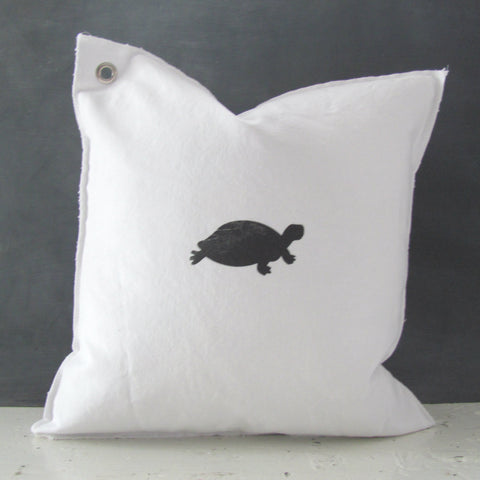 tucker the turtle mini pillow