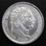 1816 Great Britain 6 Pence Sixpence Silver UNC/BU Coin-World Coins & Paper Money-DJR Authentication