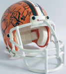 1960's Cleveland Browns HofF and Legends Signed Mini NFL Football Helmet DJR COA - DJR Authentication An Appraisal & Authentication Co.