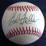 Bob Feller Cleveland Indians HOF Signed Rawlings Baseball w/ Wood Case DJR COA - DJR Authentication An Appraisal & Authentication Co.