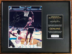 Dennis Rodman Signed Chicago Bulls 8x10 Photo Custom Framed AUTO DJR COA - DJR Authentication