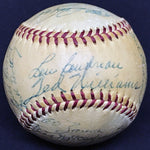 1953 Boston Red Sox Team Multi-Signed Reach Baseball 27 Sigs/4 HOF Williams McKechnie Boudreau Kell DJR LOA - DJR Authentication An Appraisal & Authentication Co.