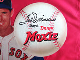 Ted Williams Boston Red Sox Moxie Soda Counter Cardboard Advertising 12x16 Display - DJR Exchange