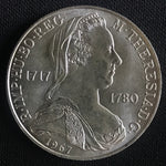 1967 Austria 25 Schilling Maria Theresa Silver Coin AU/BU-World Coins & Paper Money-DJR Authentication