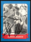 Sports World Adrian Branch Blazers Michael Jordan Signed Basketball Card EX AUTO DJR COA - DJR Authentication An Appraisal & Authentication Co.