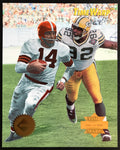 Otto Graham & Reggie White Collector's Edge 1995 Limited Edition Time Warp Jumbos Photo Card 24 of 42 - DJR Authentication An Appraisal & Authentication Co.