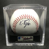 Ken Ray Braves/Royals Signed Baseball w/ Display Case AUTO DJR COA - DJR Authentication An Appraisal & Authentication Co.