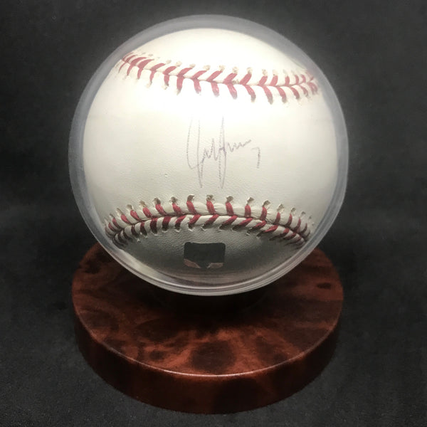 Jeff Francoeur Braves/Mets/Royals Signed Baseball w/ Display Case AUTO DJR COA - DJR Authentication An Appraisal & Authentication Co.
