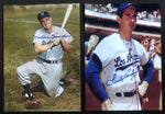 Sandy Koufax & Duke Snider Dodgers Hand Signed 5x7 Photo Lot AUTO DJR COA - DJR Authentication An Appraisal & Authentication Co.
