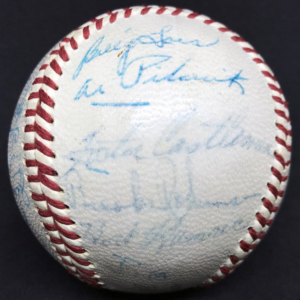 1958 Baltimore Orioles Team Signed Reach Official American League Baseball (23 Signatures) DJR LOA - DJR Authentication An Appraisal & Authentication Co.
