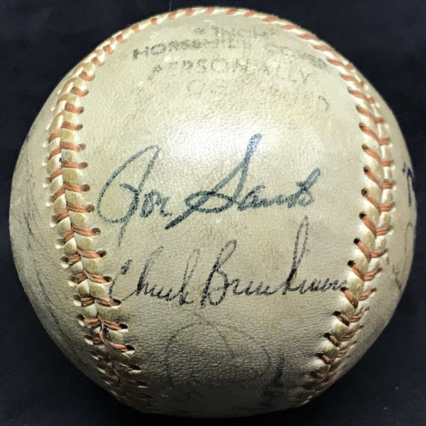 Chicago Cubs & White Sox Hall of Famers & Stars Signed Baseball Appling Santo Williams (17 Signatures) DJR LOA - DJR Authentication An Appraisal & Authentication Co.