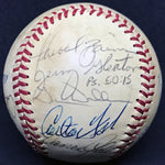 1984 Chicago White Sox Team Signed Baseball Seaver Fisk Baines La Russa (19 Signatures) DJR LOA - DJR Authentication An Appraisal & Authentication Co.
