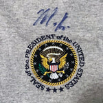 Marco Rubio Signed Official White House POTUS President USA T-shirt DJR COA-Historical Memorabilia-DJR Authentication