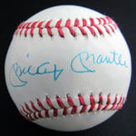 Mickey Mantle New York Yankees HOF Signed Rawlings Baseball AUTO DJR LOA - DJR Authentication An Appraisal & Authentication Co.