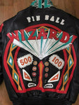 Jeff Hamilton ALL LEATHER The Who Pinball Wizard Custom Tour Concert Jacket - DJR Authentication