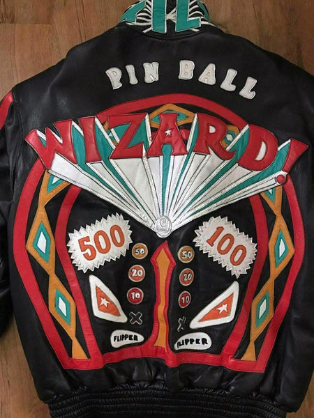Jeff Hamilton The Who Pinball Wizard All Leather Custom Tour Concert Jacket - DJR Authentication An Appraisal & Authentication Co.