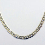 "Solid 14k Yellow Gold Midas 4.5mm Anchor Link 20"" Chain Necklace"