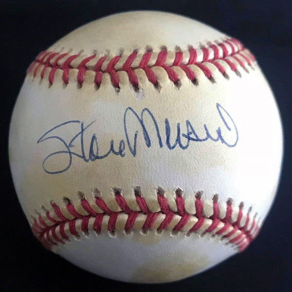 Stan Musial Signed Rawlings Official League Baseball w/ Display DJR COA - DJR Authentication An Appraisal & Authentication Co.