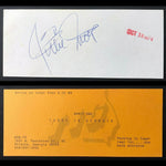 "Willie Mays Signed 1974 ""Today In Georgia"" Atlanta TV Show Admission Ticket DJR COA - DJR Authentication An Appraisal & Authentication Co."