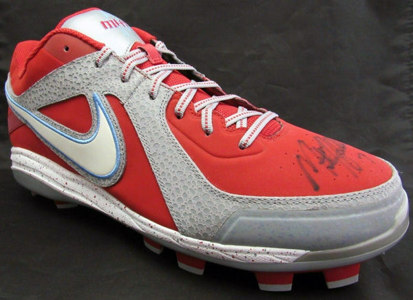 Matt Holliday St. Louis Cardinals Signed Nike Air MVP Pro Signature Promo Cleat AUTO DJR LOA - DJR Authentication An Appraisal & Authentication Co.