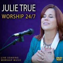Worship 24/7: Live Soaking Worship Music DVD - Front Cover