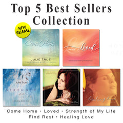 """Top 5 Best Sellers"" - Julie True CD Collection"