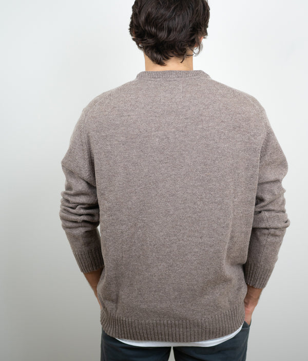 Jersey round Neck 100% Lambswool topo