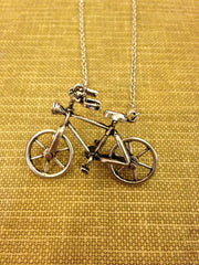 The Bicycle Necklace