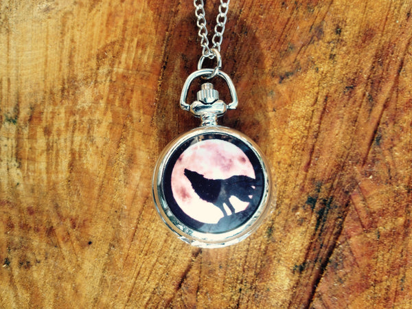 A new collection Full Moon wolf pendant watch