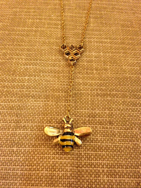 The Manchester Bee Necklace
