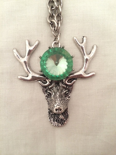 The Gothic Stag Necklace