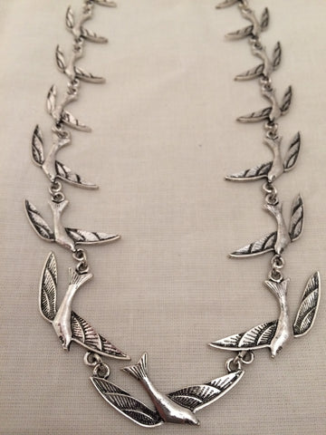Repeat Swallow Necklace