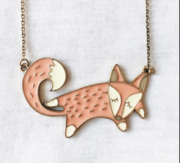 Candy Fox Necklace