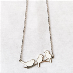 Peace Doves Necklace