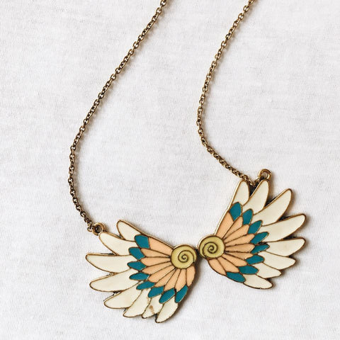 Tribal Feather Necklace