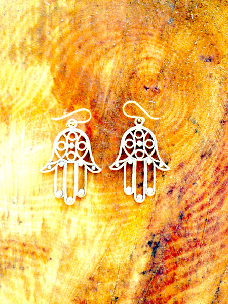New Collection Hands of Buddha Earrings