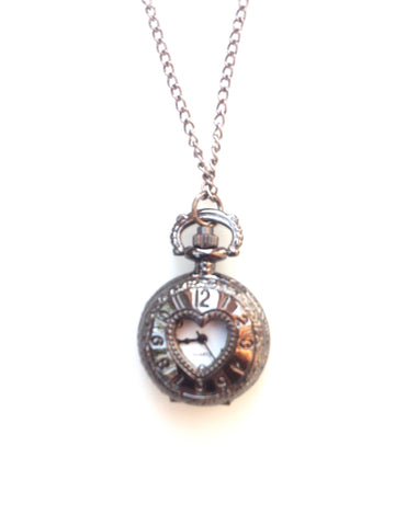 Heart pendant pocket watch