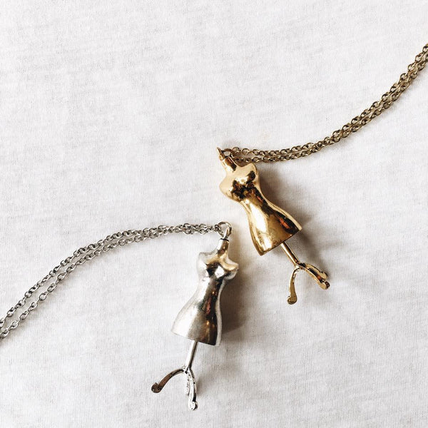 Dressmakers dummy Necklace