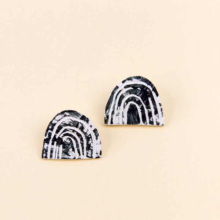 Wave Ceramic Earrings