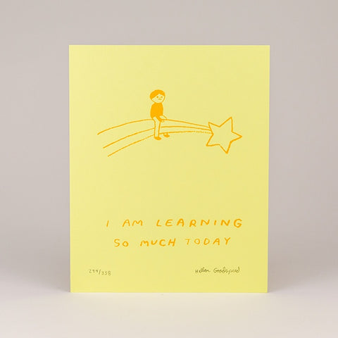 Learning Screenprint