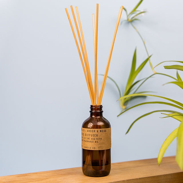 Reed Diffuser -  Amber & Moss