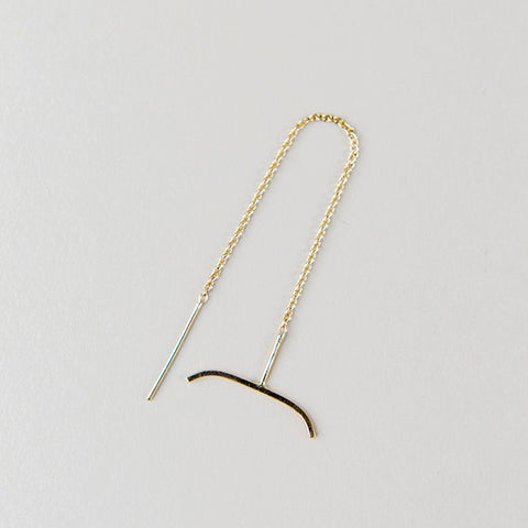 Arch + Chain Earring