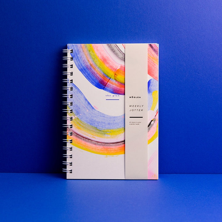 Weekly Jotter Planner, Rainbow (closed)