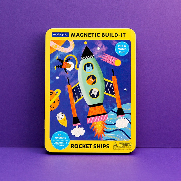 Magnetic Build-It, Rocket Ships
