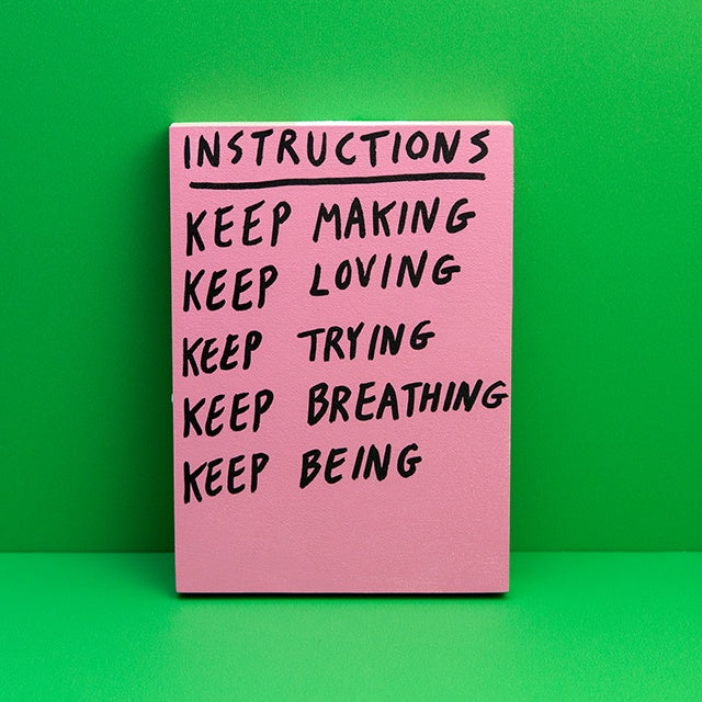 Instructions: Keep Making
