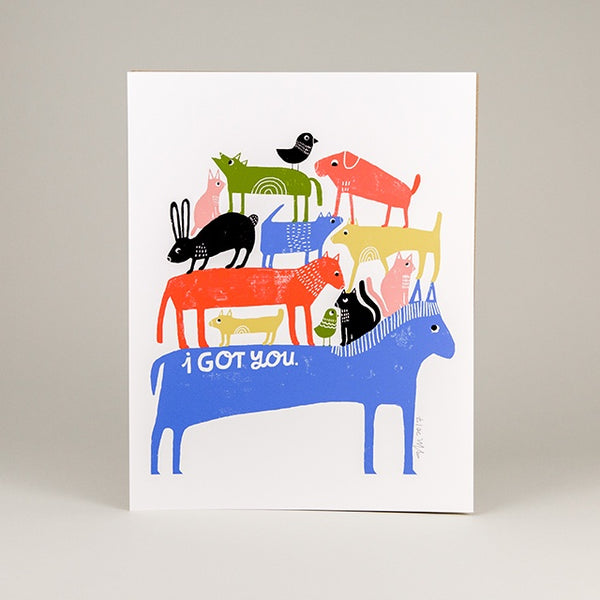 I Got You Art Print