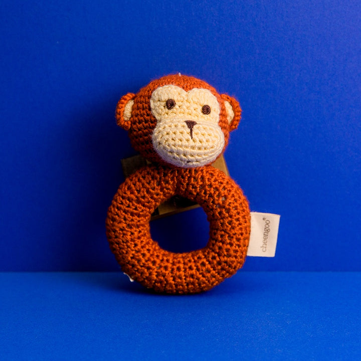 Ring Rattle - Monkey