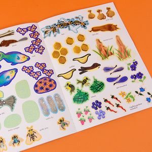My Nature Sticker Books: Inventive Animals