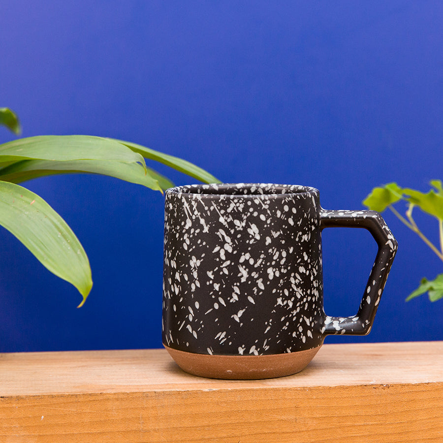 Black and White Splash Mug