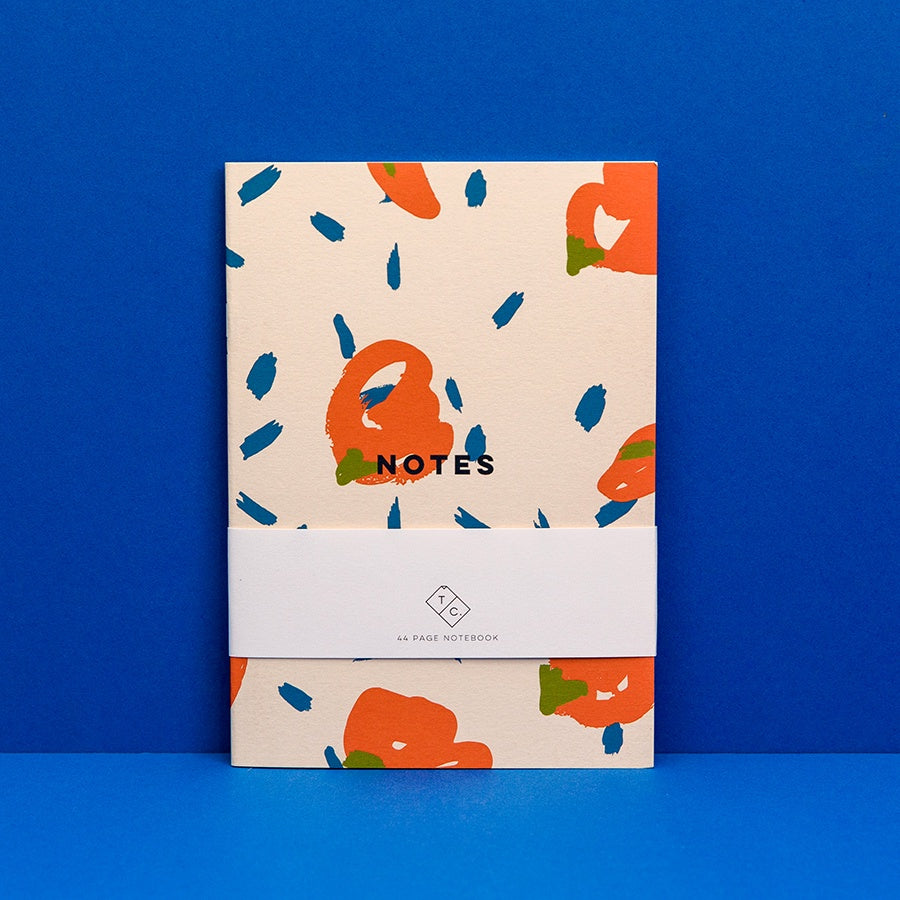 Graphic Notebook - Spot Flower
